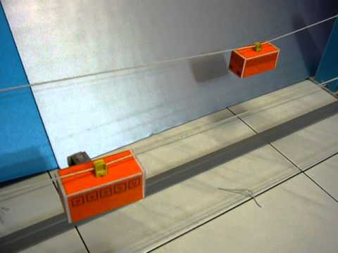 Diy Model Cable Car Science Toy Adion Shasha Science