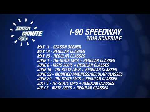 Midco Minute 513: I-90 Speedway Schedule Release