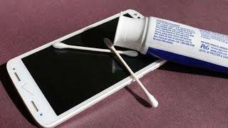 Mẹo Đơn Giản Thổi Bay Vết Trầy Xước Trên Màn Hình Smartphone Không Tốn 1 Xu