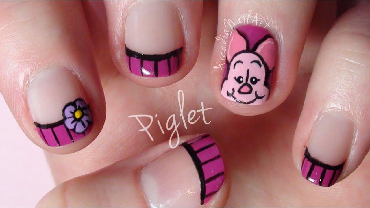 Piglet - Winnie The Pooh Nail Art Collaboration ...