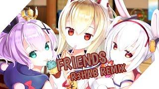 『Nightcore』- Friends (R3HAB REMIX) 『Lyrics』