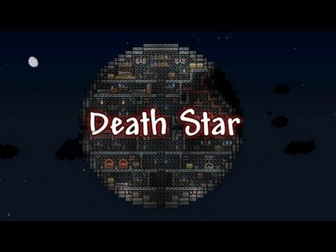 Terraria Housing Star Wars Death Star Youtube