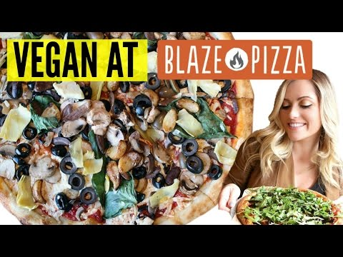 VEGAN at BLAZE PIZZA! Best Vegan Fast Food Options!