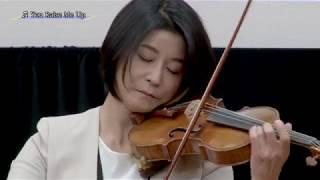1.グローバル人材育成アンバサダー(高嶋ちさ子氏)就任状授与式・ヴァイオリン演奏