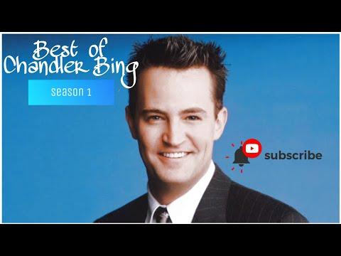 Best of Only Chandler Bing[HD] season 1