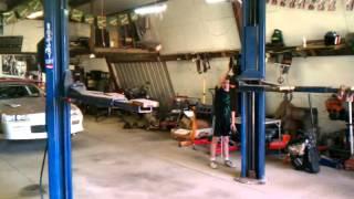 Rotory 7k car hoist.