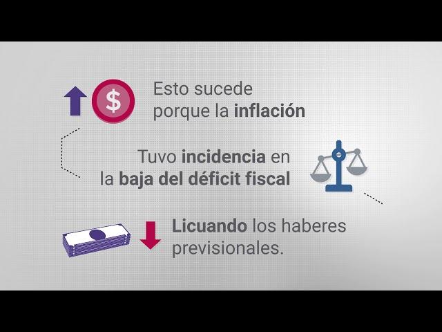 Sin reforma previsional la inflación no bajará del 40%