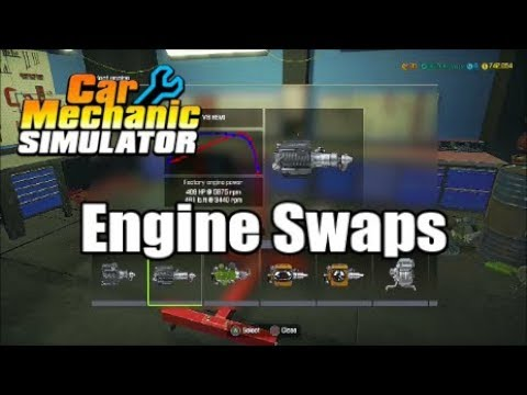 Car Mechanic Simulator Engine Swaps | CMS | Engine Swap | Consoles