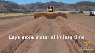 AggreScreed - Gravel Grader - Road Building - Road Construction - Gravel Screed - Grading Roads