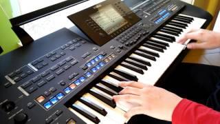 Akcent & Exaited - W sercu mi graj cover keyboard Yamaha Tyros