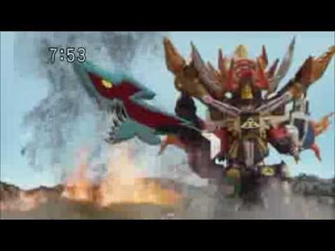 Samurai Sentai Shinkenger - Samuraihaoh With Kyoryuto