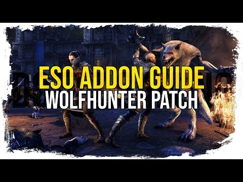 ESO Addon Guide - My User Interface (Wolfhunter)