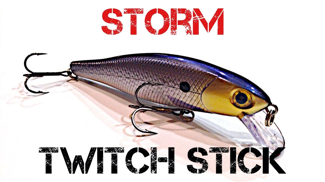 lure review- storm twitch stick - youtube, Reel Combo