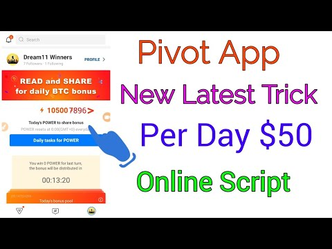 Pivot App Hack Unlimited Trick | Earn Unlimited Paypal  Cash Daily $50 Loot