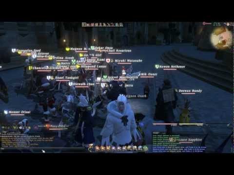 Final Fantasy XIV 1.23b - GM guided Ul'dah invasion 2012-11-04, Ragnarok