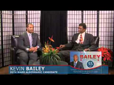 Chicago Street Journal first Television Show interviewing Kevin M. Baily.