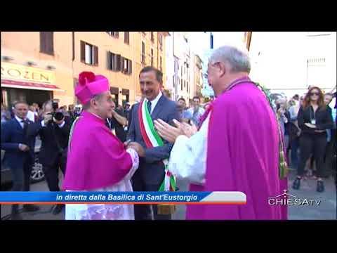24 settembre 2017 ingresso dell'arcivescovo di Milano mons Delpini (CHIESATV)