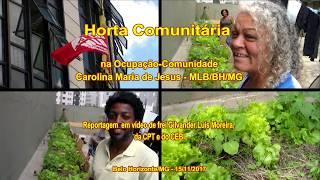 Horta Comunitária na Ocupação Carolina Maria de Jesus/MLB, Belo Horizonte/MG. 15/ 11/ 2017