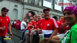 Los ultras del Bayern la lían en Madrid