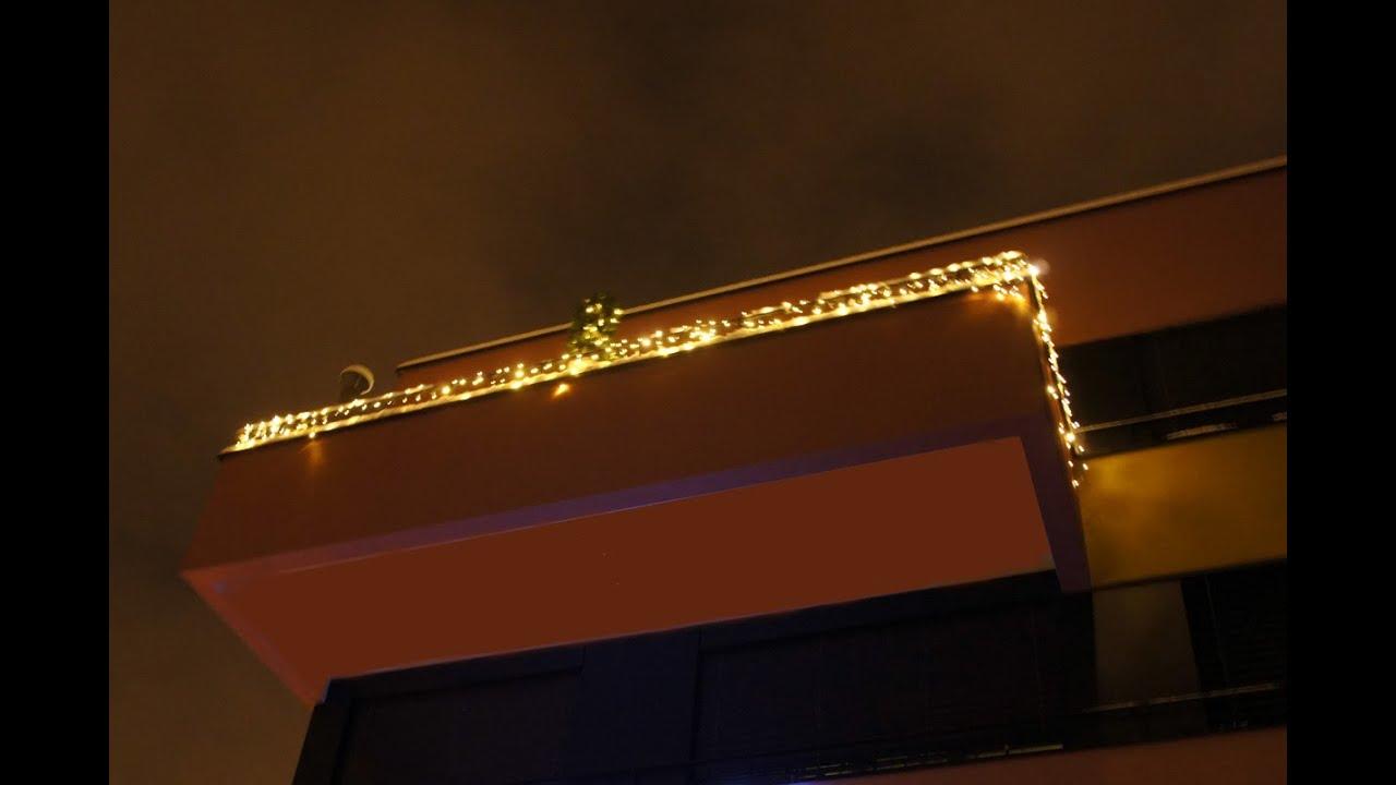 Led Weihnachtsbeleuchtung Balkon.Apesa Ch Weihnachtslichter Balkonbeleuchtung Mit System 24 Led