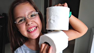😂Toilet Paper WORKOUT! #StayHome