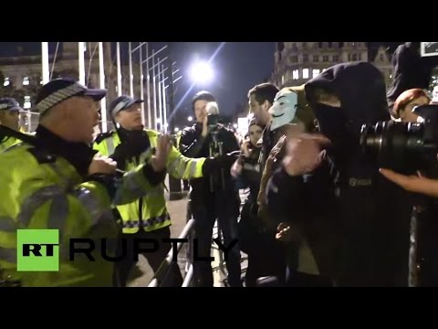 LIVE: London march against media propaganda outside BBC HQ