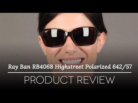 ray ban polarized sunglasses review  ray ban rb4068 highstreet polarized 642/57 sunglasses review