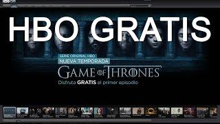 Como crear cuentas HBO gratis