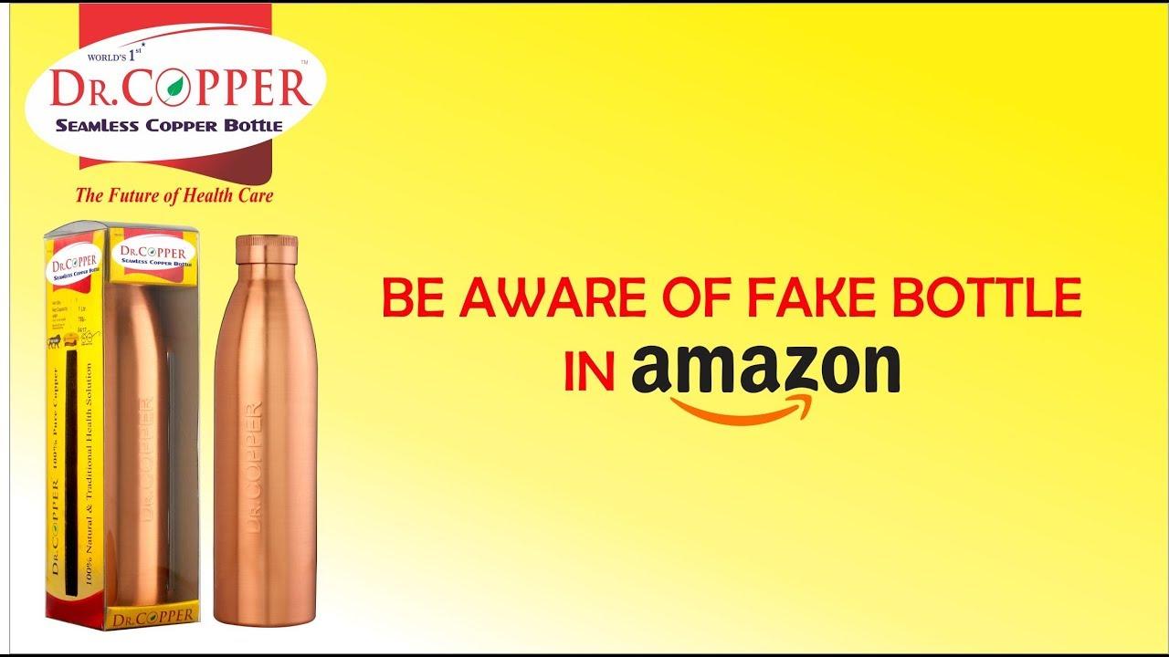 Fake Dr. Copper Bottles in Amazon  e2a234d5027e