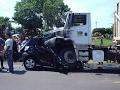 Подборка аварий и дтп с пострадавшим записаны на видеорегистратор