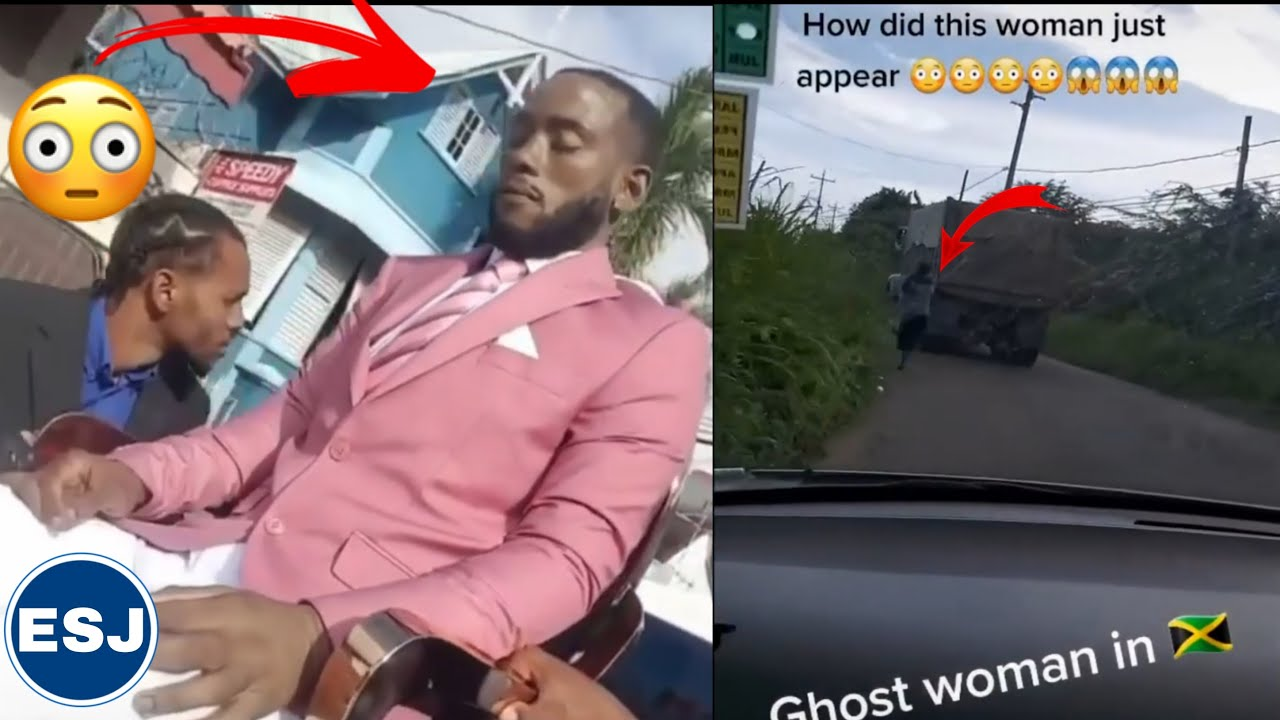 Download Dead man sitting up in while transported to his funeral in  🇹🇹 😱| Ghost woman appeared in jamaica 🇯🇲