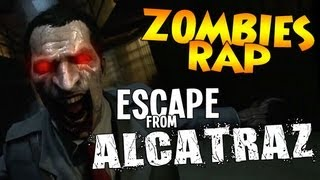 ZOMBIES RAP ♪ Escape from Alcatraz | Iniquity & @TheKingNappy