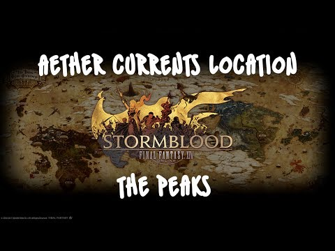 FFXIV Stormblood - Aether Currents   The Peaks [Visual Guide]