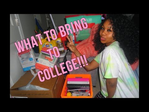 #PRECOLLEGE SERIES: WHAT TO BRING TO COLLEGE |MsPapiJean