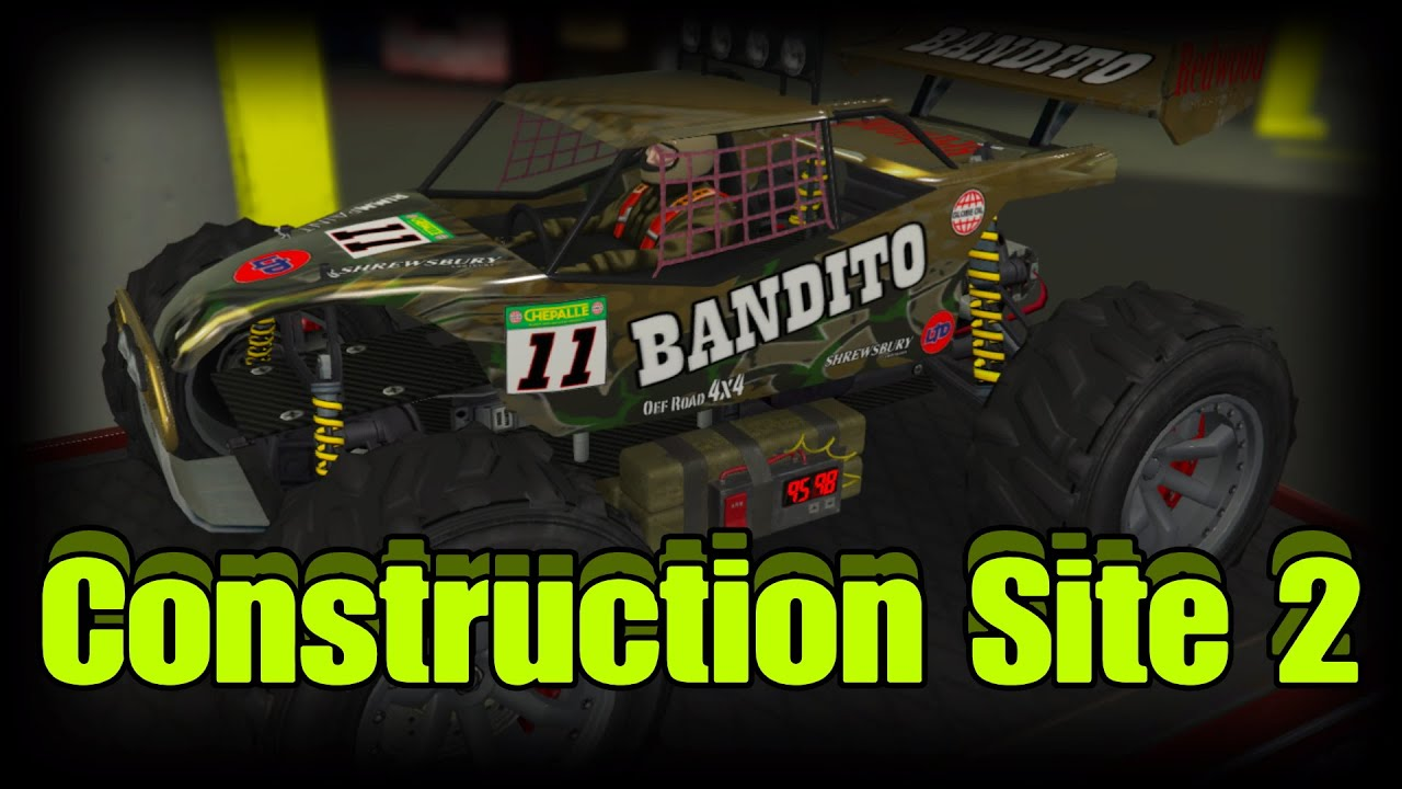 Construction Site 2-RC Time Trials-GTA Online GUIDE