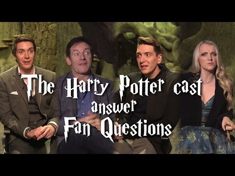 The Harry Potter cast answer fan questions!