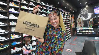 JoJo Siwa Goes Shopping For Sneakers With CoolKicks