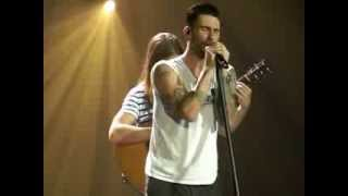 Maroon 5 - She will be loved live London O2 Arena 11 January 2014 front row