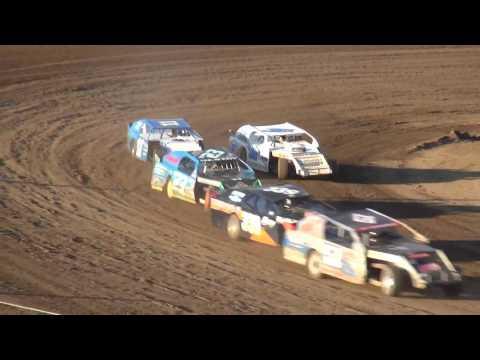 IMCA Sport Mod Heats Independence Motor Speedway 8/6/16