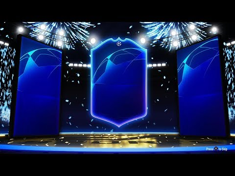 FIFA 19  UCL *AND* UEL TOTKS IN FUT CHAMP REWARDS ✅ GOLD 2 and GOLD 1 PLAYER PICK PACKS 🔥
