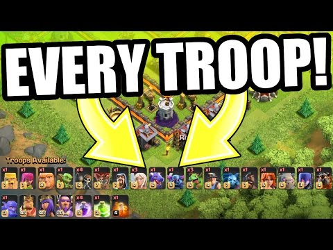 THIS ACTUALLY WORKS!! LOL! EVERY SINGLE TROOP TROLLING LEGENDS LEAGUE IN Clash of Clans!