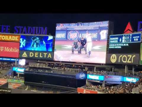 @Yankee Stadium: Texas Rangers Vs NY Yankees 09/22/21
