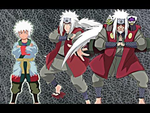 Naruto jiraiya all forms character evolution youtube - All naruto characters ...