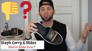 Curry 6 Slides | WORST SLIDES EVER!!!!