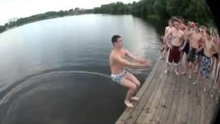 Крутые прыжки в воду