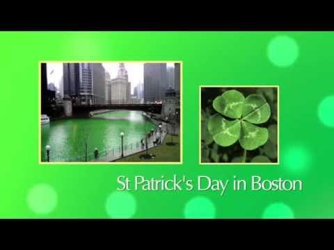 St Patricks Day in Boston - Bishon