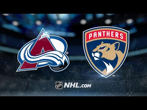 Varlamov, Avalanche tame Panthers, 7-3