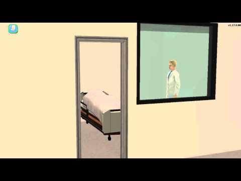 (HD) Scrubs 101: My First Day 3/3 : The Sims 2 Machinima