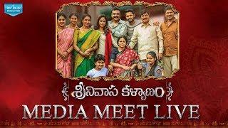Srinivasa Kalyanam Media Meet Live | Nithiin, Raashi Khanna | Mickey J Meyer | Dil Raju