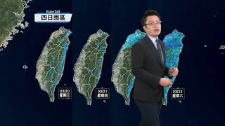 預報2019-03-20農業氣象,掌握氣象、掌握農事!
